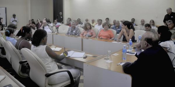 Brigada Antonio Maceo intercambia con jóvenes cubanos