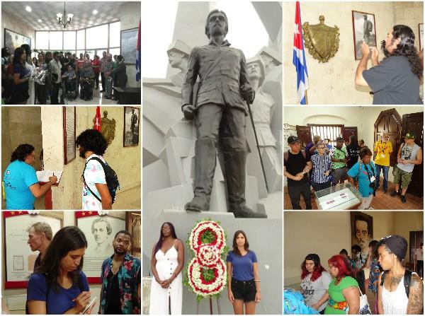 Brigada estadounidense Venceremos trae su solidaridad a Camagüey (+ Fotos y Audio)