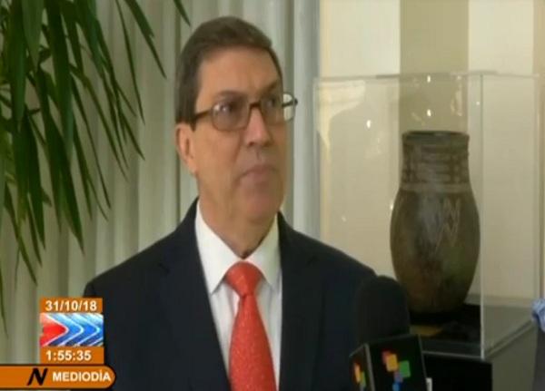 Canciller cubano agradece rotundo apoyo internacional a eliminación del bloqueo (+ Video)