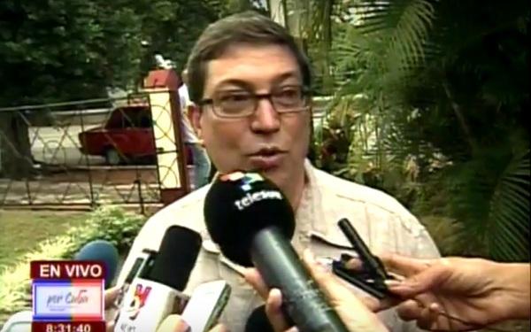 Condena Bruno Rodríguez expulsión de diplomáticos de la Misión de Cuba en ONU
