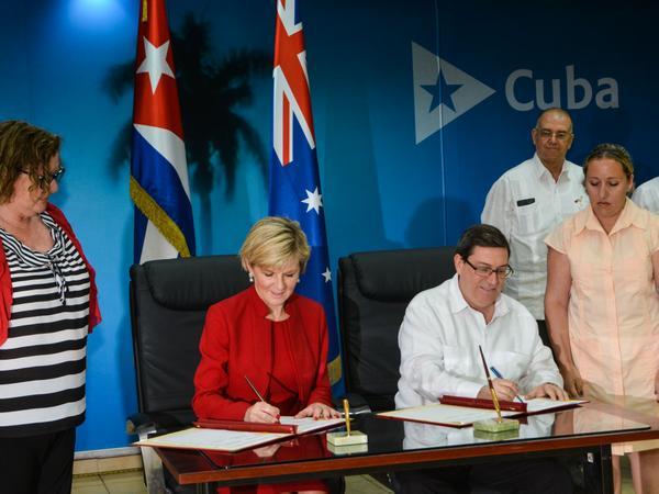 Valoran Cuba y Australia nuevas oportunidades para el comercio y la inversión