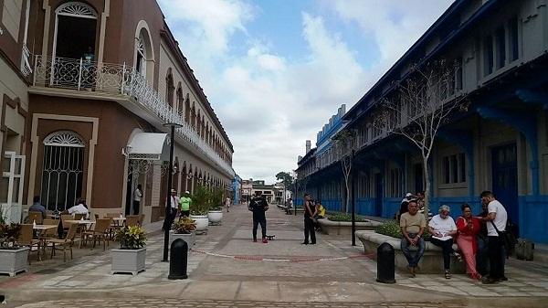 Abierto bulevar en entorno del futuro Museo Ferroviario de la capital camagüeyana (+ Fotos)