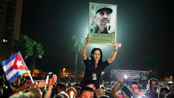 Fidel en el tributo del estudiantado camagüeyano (+Audio)
