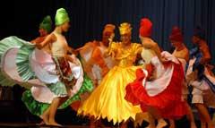 Estreno folklórico camagüeyano en Grand Prix Vladimir Malakhov