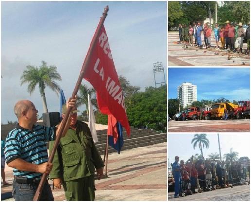 Camagüey recupera gradualmente su condición de ciudad limpia y hermosa (+Video)