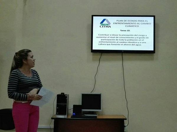 Insta CITMA en Camagüey a promover temas ambientales relacionados con el cambio climático (+ Post)
