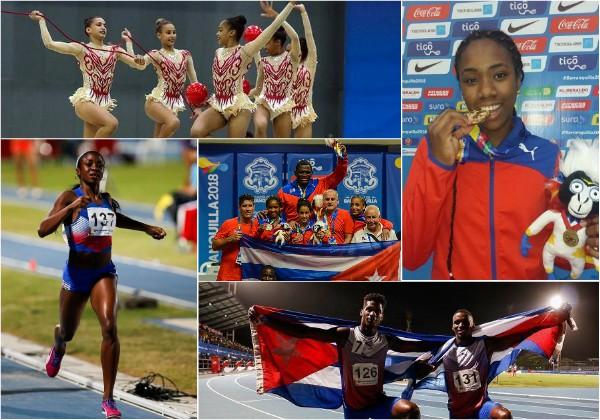 Cuba asalta el medallero en Barranquilla