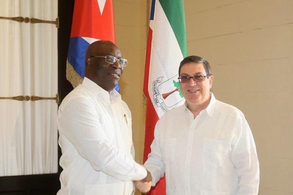 Cuba y Guinea Ecuatorial continuarán fortaleciendo lazos de amistad y cooperación