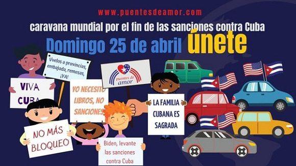 No más bloqueo: nueva caravana mundial de apoyo a Cuba