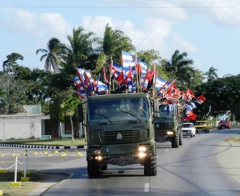 Reeditarán en Camagüey entrada triunfal de la Caravana de la Libertad