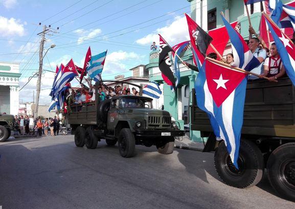 Reeditan en Camagüey paso de la Caravana de la Libertad (+ Fotos)