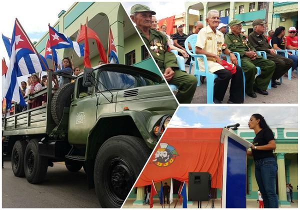 Camagüey reedita la entrada de Fidel con la Caravana de la Libertad (+ Fotos y Video)