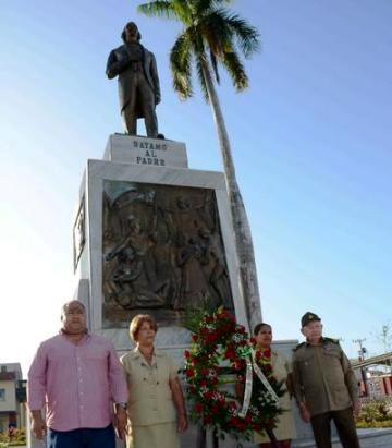 Rinden tributo a Carlos Manuel de Céspedes, el Padre de la Patria