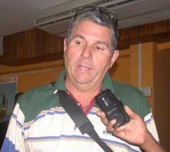 Carlos Recio Estévez, uno de los artífices de la Maqueta de la ciudad de Camagüey.
