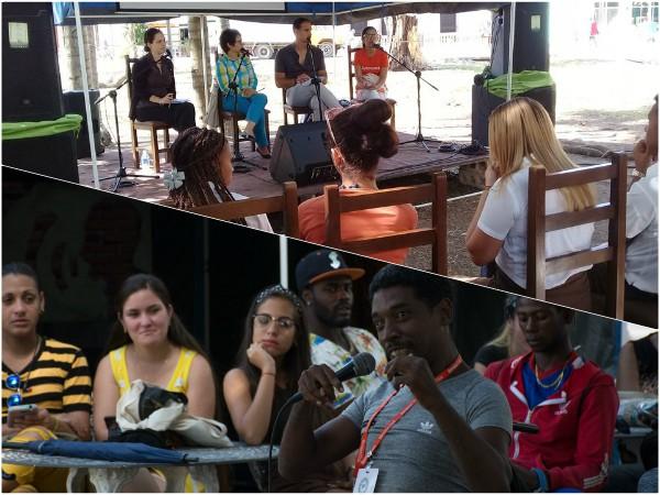 Carpa de la Reina: espacio camagüeyano para el arte joven en Feria del Libro