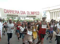 Desarrollarán maratón cubano en saludo al Día Olímpico