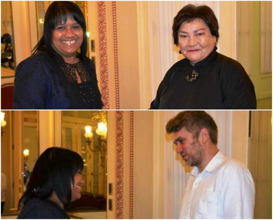 Embajadores de Hungría y Mongolia entregan en Cuba copias de estilo
