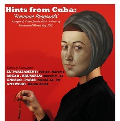 Arte de mujeres cubanas en Bélgica
