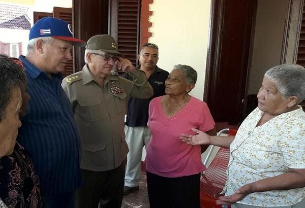 Aprecia Espinosa Martín avances de la recuperación de la vivienda en Camagüey