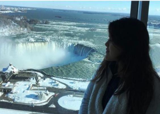 Insólitas imágenes de las cataratas heladas del Niágara