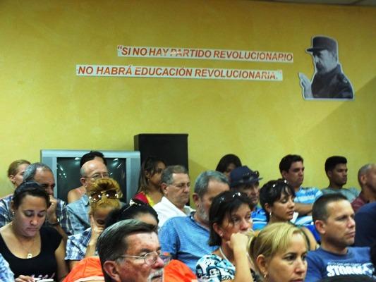 Dedica Universidad de Camagüey a Fidel Cátedra Honorífica
