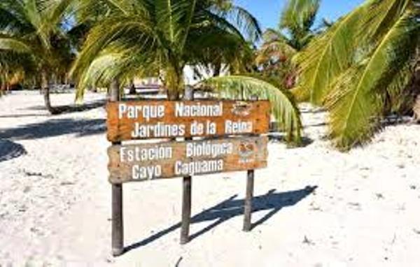 En Cayo Caguama se vela por el cuidado de la naturaleza