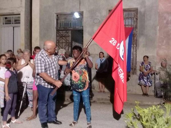 Reconocen en Camagüey a protagonistas en el trabajo de los Comités de Defensa de la Revolución