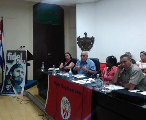 Mayor organización de masas en Cuba reafirma en Camagüey respaldo a elecciones generales