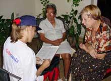 Censo de Población y Viviendas en Cuba en septiembre de 2012