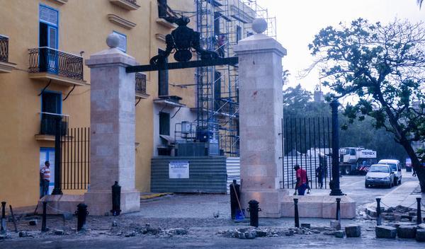 Restauran obras patrimoniales del Centro Histórico de La Habana