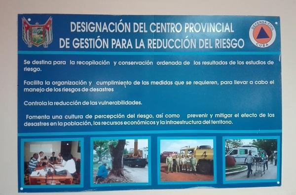 Positivo desempeño en Camagüey de Centros para Reducción de Riesgos de Desastres (+ Fotos y Audio)