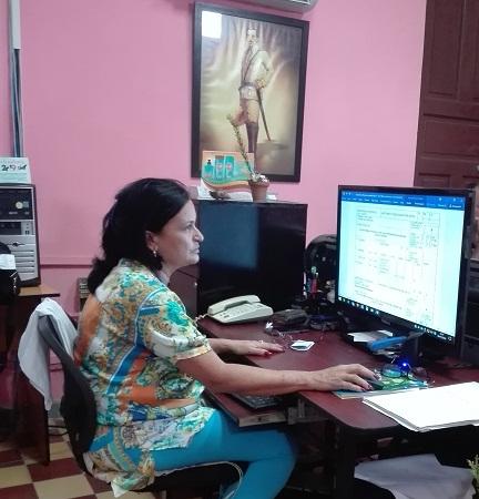 M.Sc. Roxana García Domínguez, jefa del CGRD en la provincia de Camagüey.