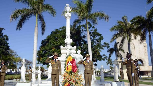A 199 años de su natalicio, Cuba honra al Padre de la Patria