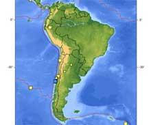 Seísmo de seis grados sacude norte de Chile, sin daños