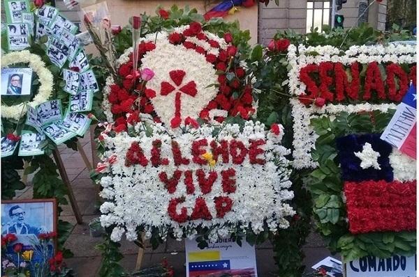 Homenaje en Chile a víctimas del golpe de Estado de 1973