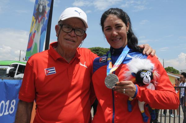 Ciclista cubana hace Ruta individual plateada en Juegos regionales