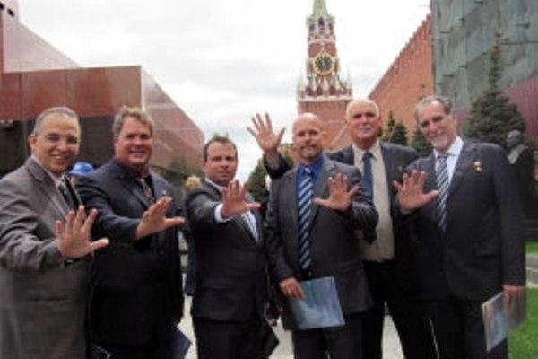 Héroes cubanos concluyen visita a Rusia