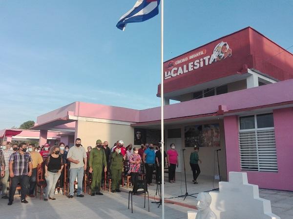 Círculo infantil La Calesita, en Santa Cruz del Sur, reabre sus puertas de amor (+ Fotos y Audio)