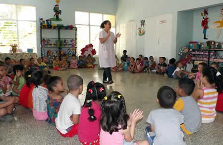 Con buenos resultados en Camagüey, enseñanza del idioma inglés en primera infancia