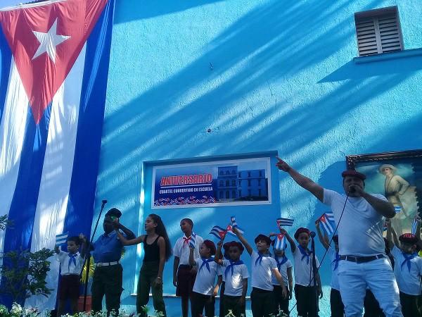 Celebran en Camagüey 60 años de Ciudad Escolar, cuartel convertido en escuela (+Fotos y Audio)