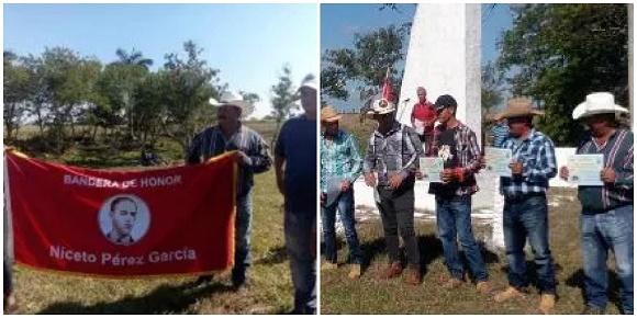 Entregan Bandera de Honor a cooperativa camagüeyana destacada en la producción lechera