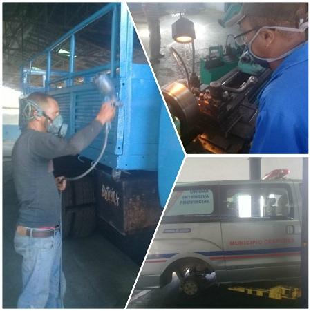 Garantiza Empresa camagüeyana de Servicios Automotores funcionamiento de medios vinculados a la atención médica