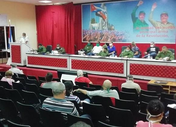 Prioriza Consejo de Defensa Provincial en Camagüey soluciones a demandas de la población