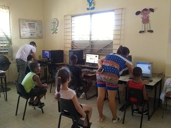 Escuela de Camagüey abierta a la recreación sana en la etapa estival