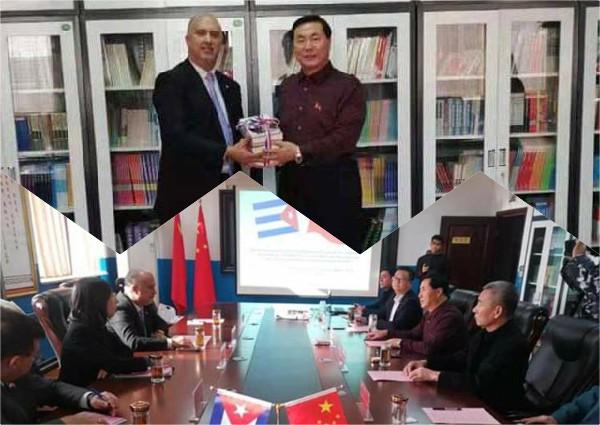 Respalda Cuba enseñanza de español en Universidad china de Hebei