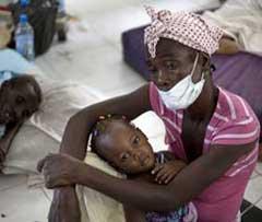 Expertos  alertan sobre mutación de cepa del cólera en Haití