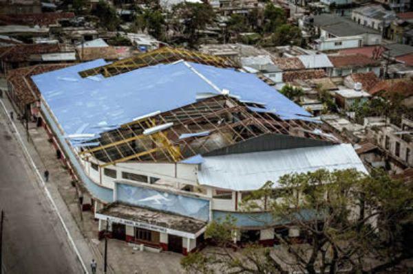 Mucho por recuperar en instalaciones deportivas cubanas dañadas por huracán