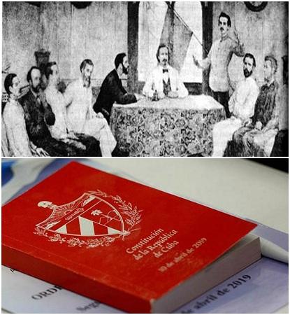 Con el legado de Guáimaro, una nueva Constitución (+Fotos y Video)