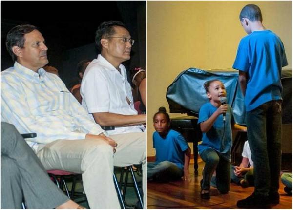 Con taller artístico niños cubanos rememoran visita de Fidel Castro a Vietnam