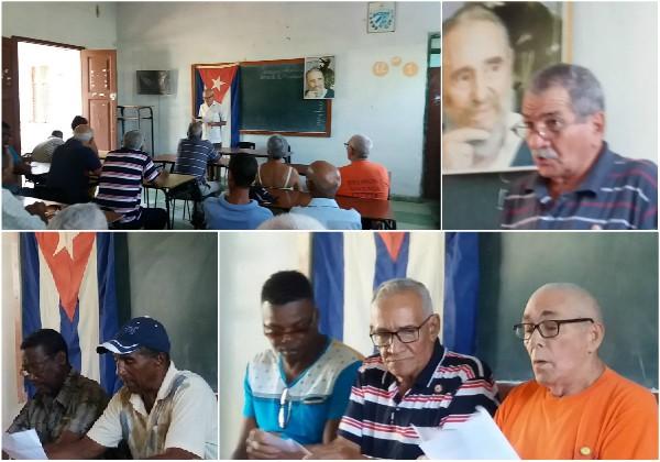 Combatientes de la Revolución y jóvenes de hoy rinden homenaje a Fidel en Camagüey